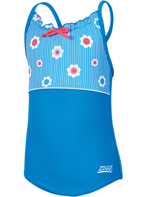 Zoggs Holiday Classicback Swimsuit Girls Blue/Multi